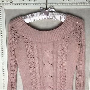 Guess Cable Knit Sweater